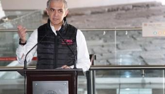 CDMX no ha recibido recursos del Fonden, asegura Mancera