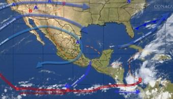 Se prevén fuertes lluvias en Campeche y Yucatán