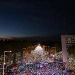 Multitudinaria marcha en Barcelona para exigir liberación de políticos catalanes