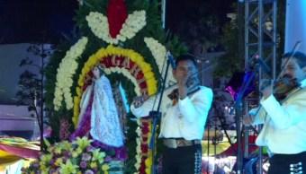 mariachis dedican las mañanitas a santa cecilia