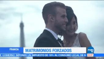 Matrimonios Forzados Francia Obligados Tipificados Delito