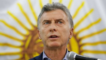 Mauricio Macri habla sobre el submarino argentino desaparecido ARA San Juan