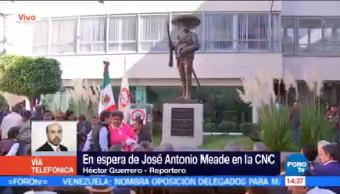 Meade Acudirá Confederación Nacional Campesina José Antonio