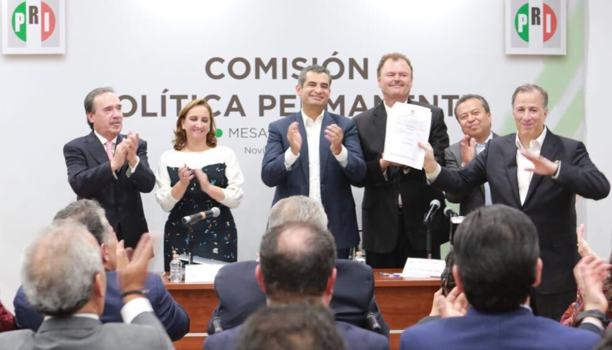 Meade carta intención precandidato PRI Presidencia