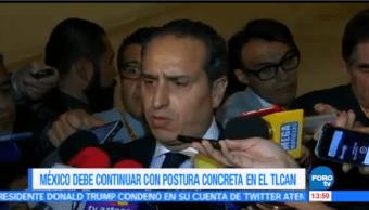 México Juega Defensiva Renegociación Tlcan Moisés Kalach