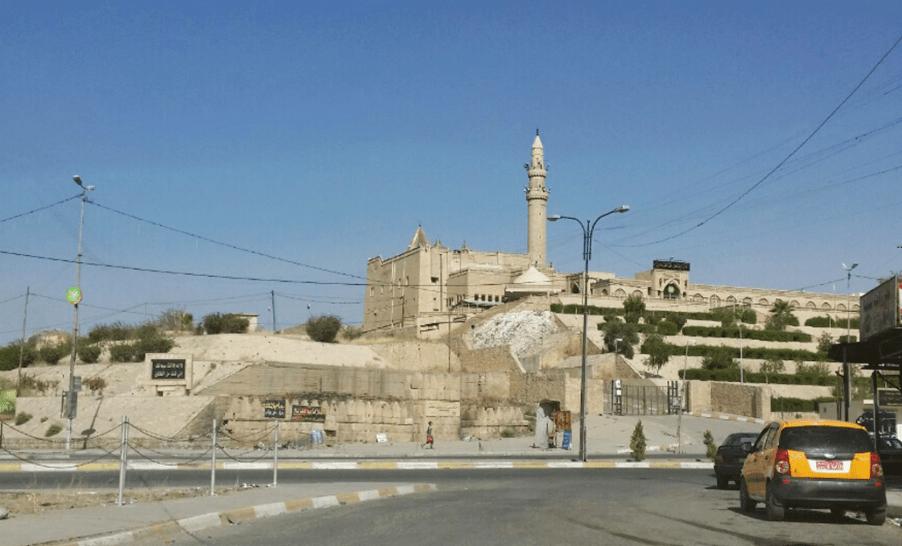 Mezquita del profeta Younis en Mosul antes de la ocupación del EI