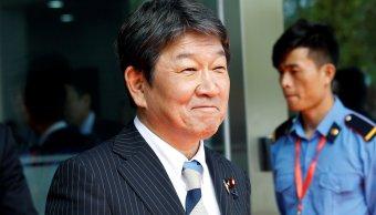 Ministro de Comercio japonés dice que se logra acuerdo del TPP