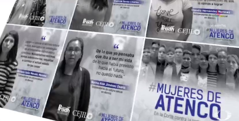 Mujeres, víctimas de tortura sexual en México, buscan justicia en el mundo