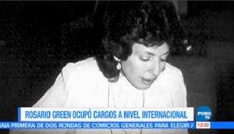 Murió Embajadora Excanciller Rosario Green Macías Sábado