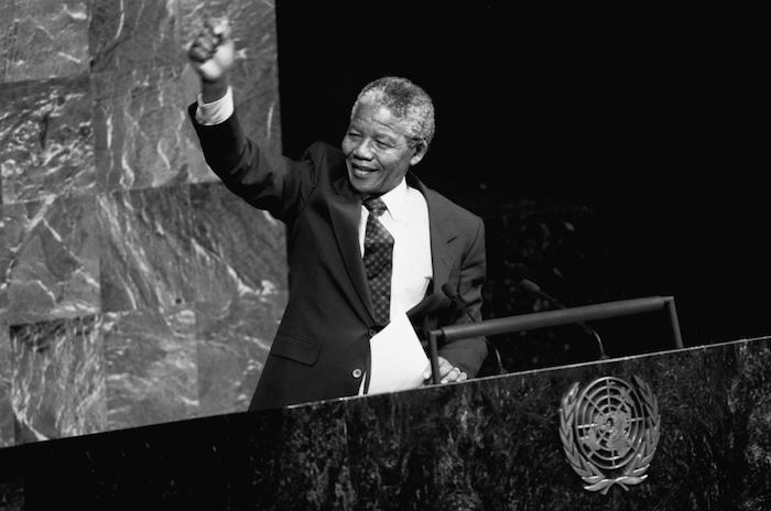 Nelson Mandela en la UNESCO