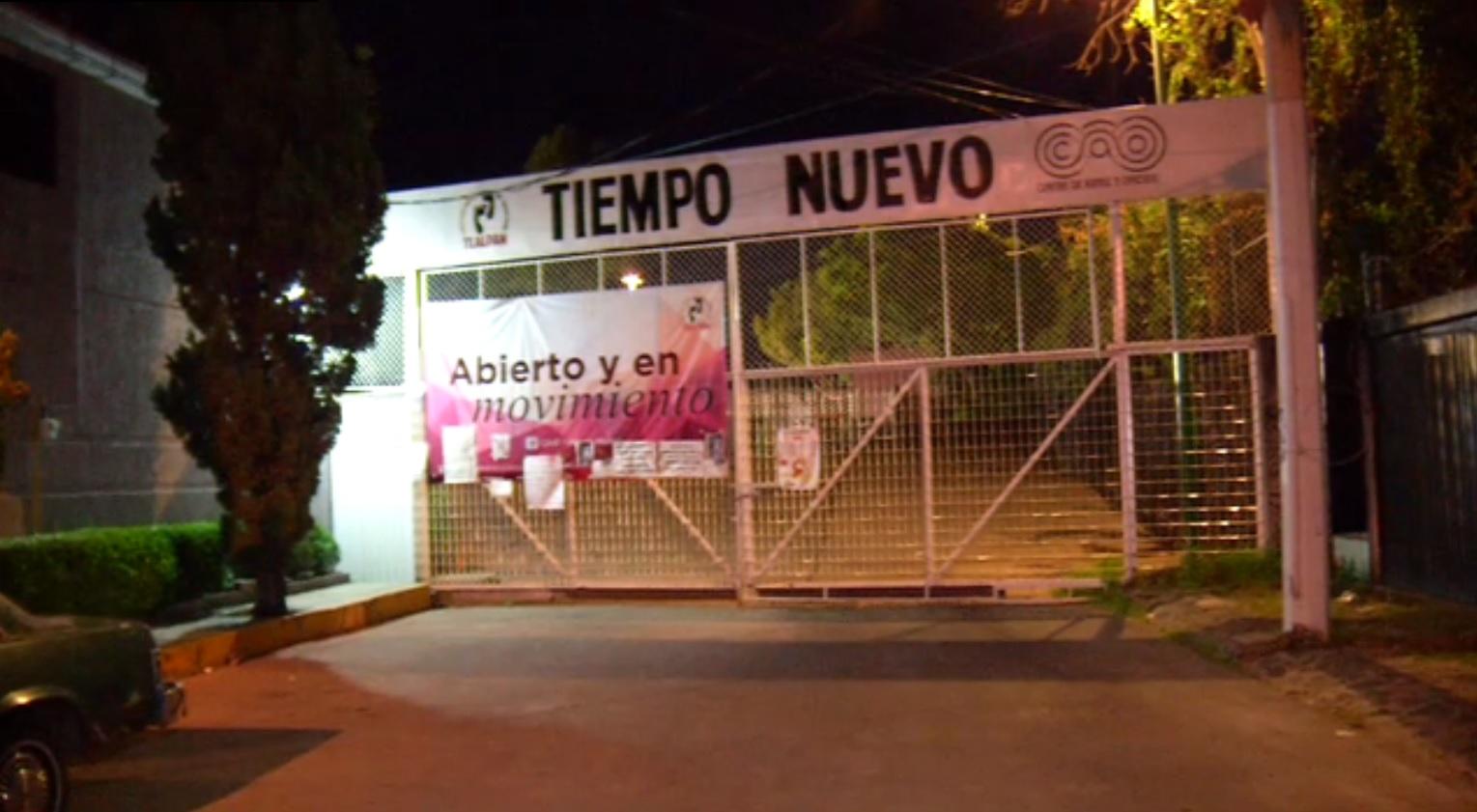 Muere menor en Centro de Artes y Oficios Tiempo Nuevo de Tlalpan
