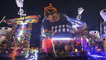 Reclusos celebran el Día de Muertos con concurso de ofrendas