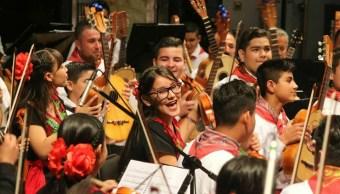 nuevo modelo educativo da primeros frutos con orquesta y coro