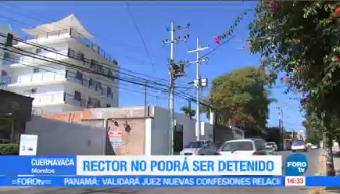 Otorgan Amparo Rector Uaem Juez Cuernavaca
