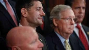 Ryan y McConnell llaman a demócratas a ponerse a trabajar