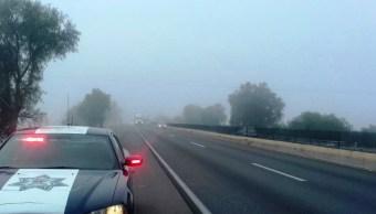 implementan operativo carrusel por niebla en autopistas