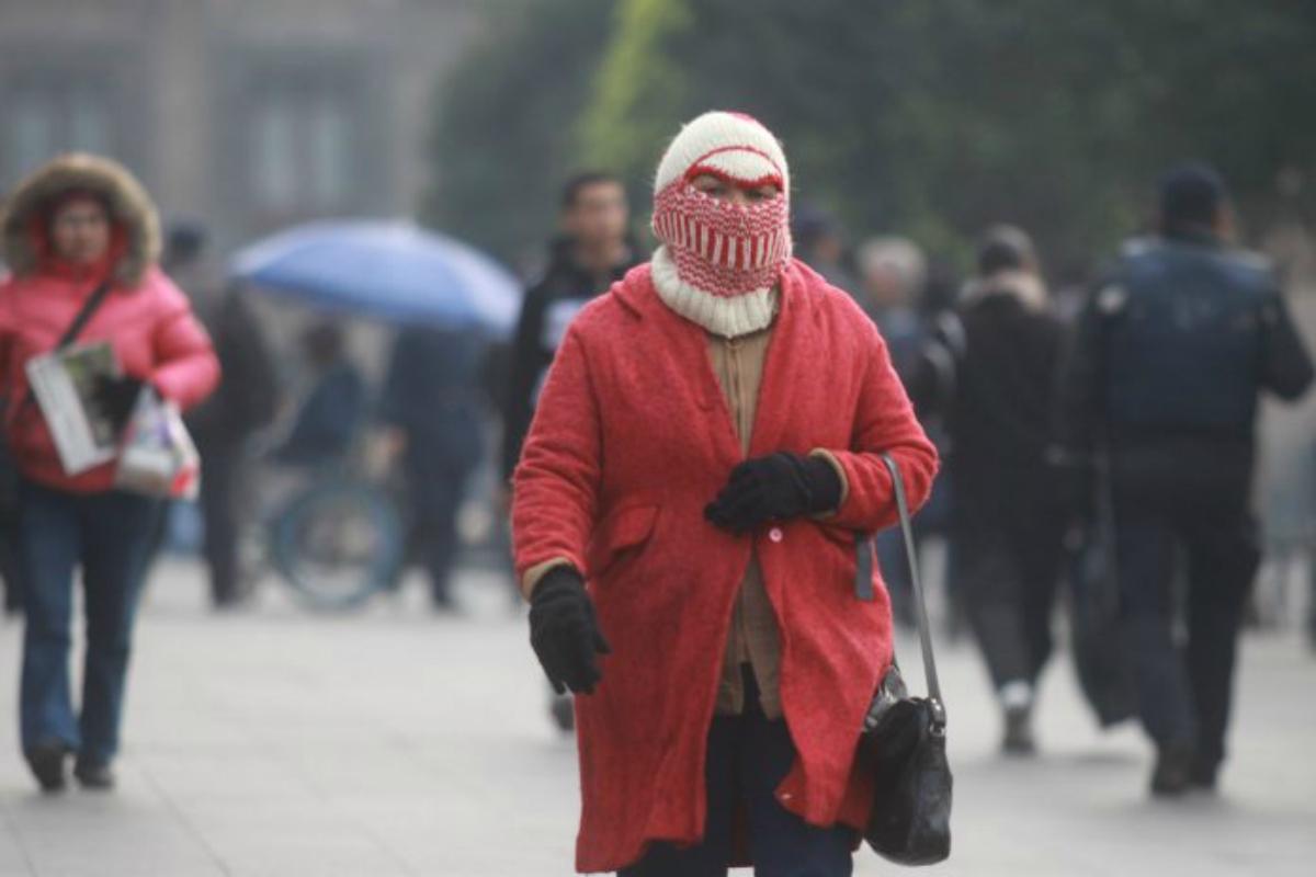 Prevén viernes frío con temperaturas menores a cinco grados
