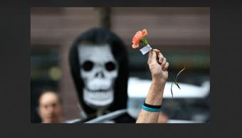 Protesta contra el racismo y los crímenes de odio en Chicago, EU