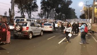 Damnificados Multifamiliar Tlalpan caos vial CDMX