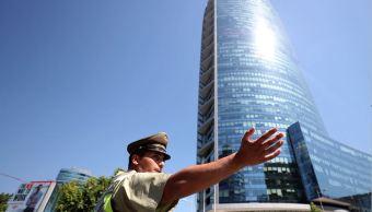Miles de evacuados en simulacro de incendio en rascacielos de Chile