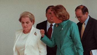 Green fue una 'campeona' de los Derechos Humanos, expresa Madeleine Albright