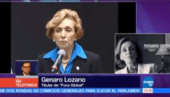 Rosario Green Verdadera Mujer Estado Genaro Lozano