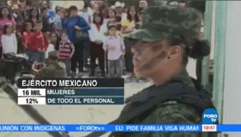 Salvador Cienfuegos Encabeza Seminario Internacional Mujeres Ejército