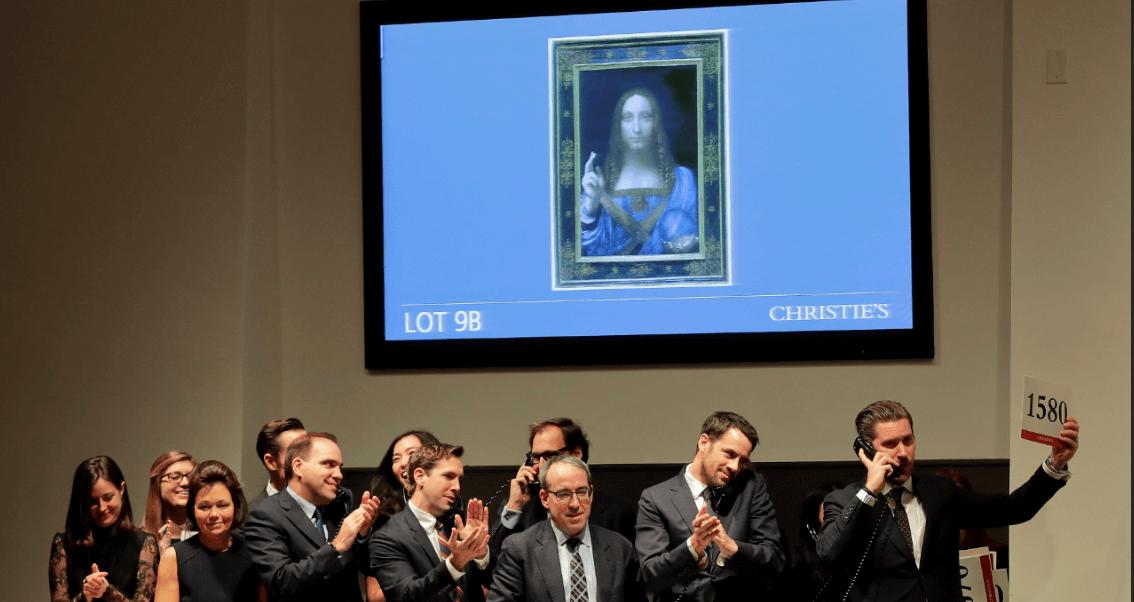 Resultado de imagen para 'Salvator Mundi', de Leonardo da Vinci, la obra más cara de la historia