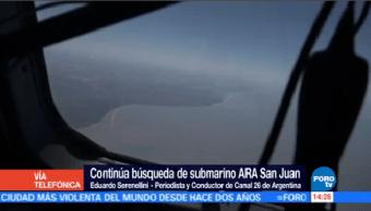 Confirma Estallido Dentro Submarino Argentino Autoridades