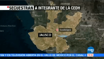 Secuestran Integrante Cedh Jalisco Guadalajara Integrante