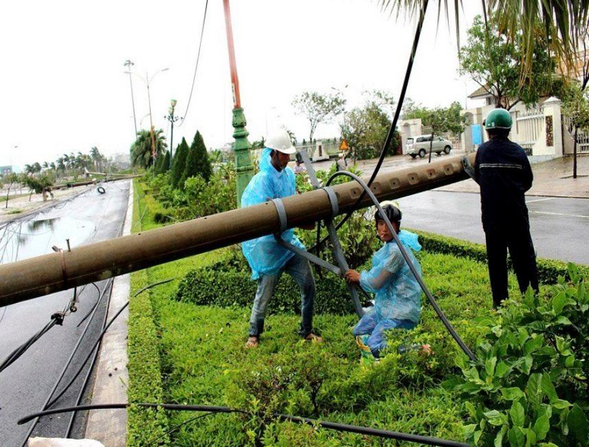 Tifón deja 15 muertos y cuatro desaparecidos en Vietnam