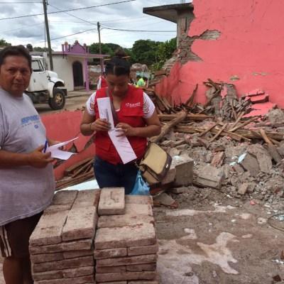 Tras sismo del 7S, 120 mil viviendas serán reconstruidas en Chiapas y Oaxaca