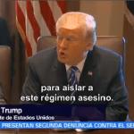 Trump Declara Corea Norte Patrocinador Terrorismo Donald