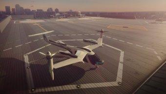 Uber se asocia NASA crear taxis voladores