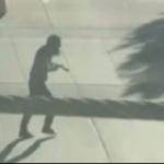 Un video captó el momento enque Saipov intentaba huir del lugar