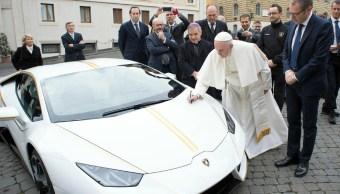 Lamborghini Huracán, Papa Francisco, Lamborghini, Subasta, Papa, Donaciones