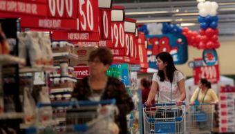 Las ventas iguales crecen 2-1 por ciento interanual