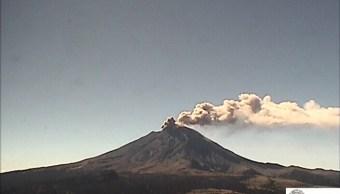 el volcan popocatepetl expulsa ceniza en morelos y edomex