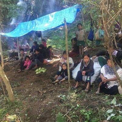 Sin comida y a 3 grados de temperatura, sobreviven 5 mil tzotziles desplazados en Chiapas