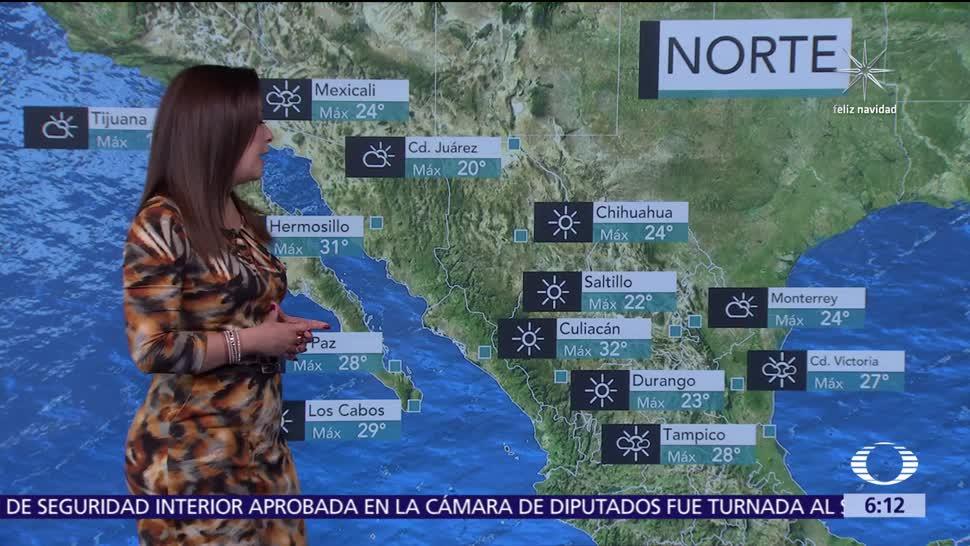 Prevén ambiente frío con heladas en zonas altas del norte, centro