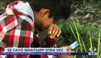 Whatsapp presenta nueva falla enWhatsapp presenta nueva falla en varios países del mundo varios países del mundo