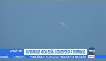 Armada Argentina recibe señal que podría ser de submarino desaparecido