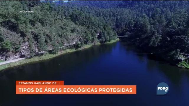 Áreas naturales protegidas en México ,
