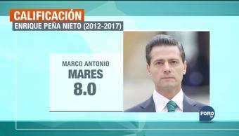 El balance de los cinco años de Peña Nieto