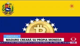 Maduro anuncia la creación de su criptomoneda