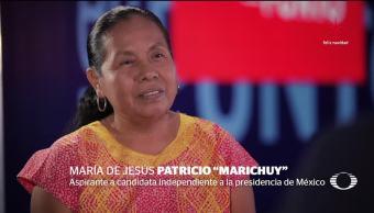 María de Jesús Patricio Martínez, Marichuy regresa a 'su tierra'