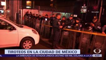 Se registran tiroteos en calles del centro histórico de la CDMX