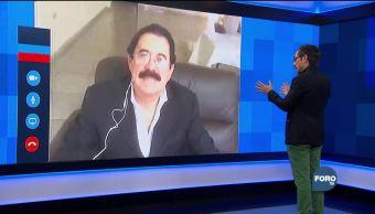 Genaro Lozano entrevista a Manuel Zelaya