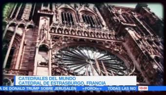 La catedral de Estrasburgo en Francia