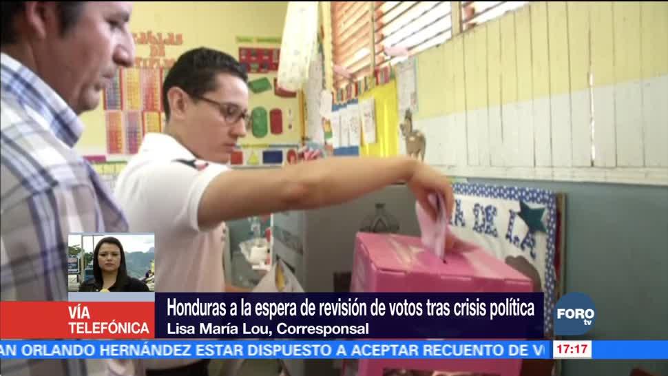 Honduras a la espera de revisión de votos